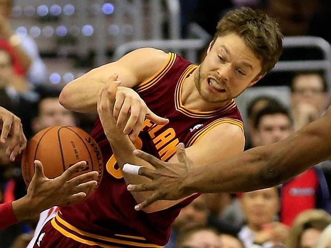 Matthew Dellavedova, kind of like that wind player that tries hard and moves around a lot but just kind of flops around.