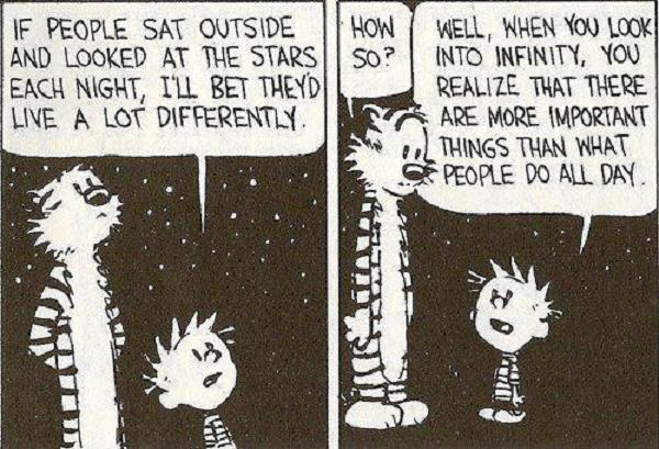 Calvin and Hobbes Stars